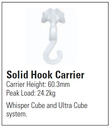 Solid Hook Carrier