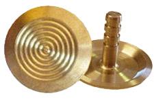 Brass long stem tactile