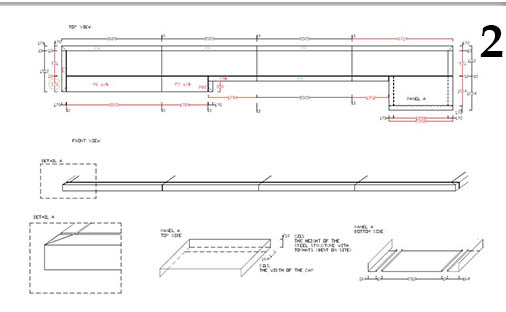 CAD Design Service. Panel Layout designed by Novaproducts.