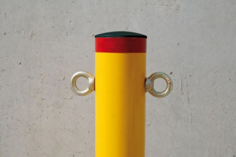 Round Bollards Installation