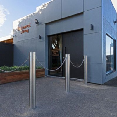 Stainless Steel Bollard Perth