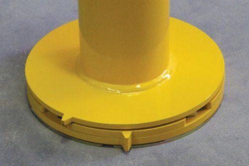 removable installation bollard