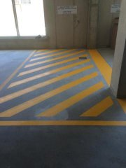 disability bay line marking