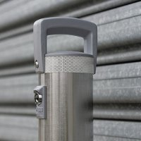 Stainless Steel removable bollard 900mm high.