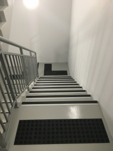 Lion Stair Nosing installed at Cedric street in Perth