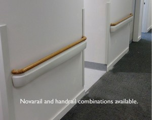 Novarail and handrail combination