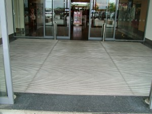 nuway entrance matting installed in cockburn wa