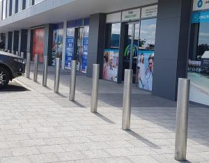 Stainless Steel Bollards Aldi