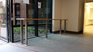 Timber handrail supplied and installed in Perth