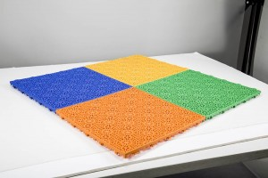 4 different colours of matting in perth
