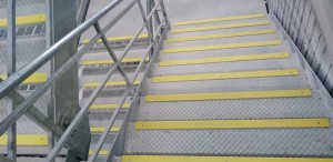 GALV D YELLOW STAIR NOSING CROWN TOWERS