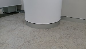 Curved Aluminium Novaskirt Classic Installed at New Childrens hospital