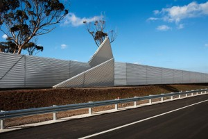 Project supplied installed noise walls in perth