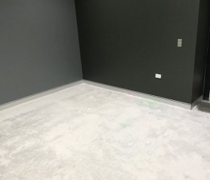 Aluminium Skirting supplied and installed in Perth