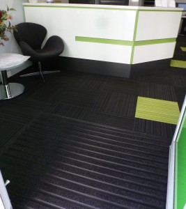 Black Anodised Commercial Matting