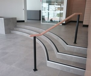 CCRG Curved PVC stair noinsg