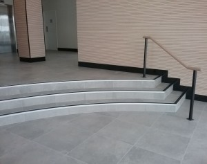 CCRG Curved Stair Nosing Insert