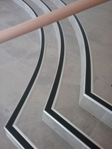 CCRG PVC Curved Stair nosing insert