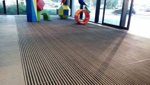 Nuway Entrance mat installed at hospital in perth