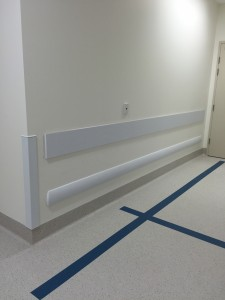 wall guard installed in perth